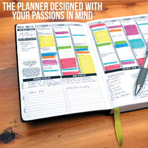 passion planner The owner of this company created a planner that is so unique and inspiring, you have to check it out.  She created this planner to help people figure out how to reach their goals by staying motivated and focused.  Concerning how she gives back, you need to visit her website and read her story and I think you will be inspired. www.passionplanner.com