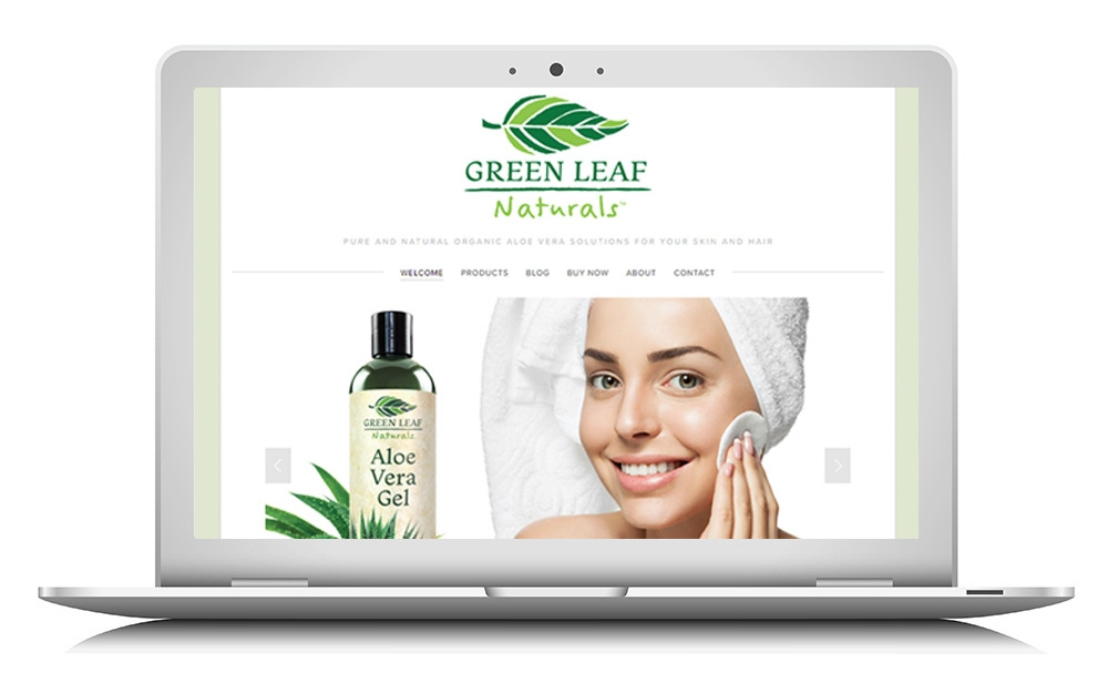 green leaf website