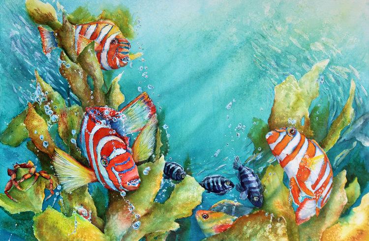Fishy Friends - Julie McIntyre