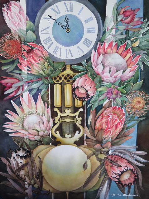 Time Ticking Away - Yasuko Abeshima