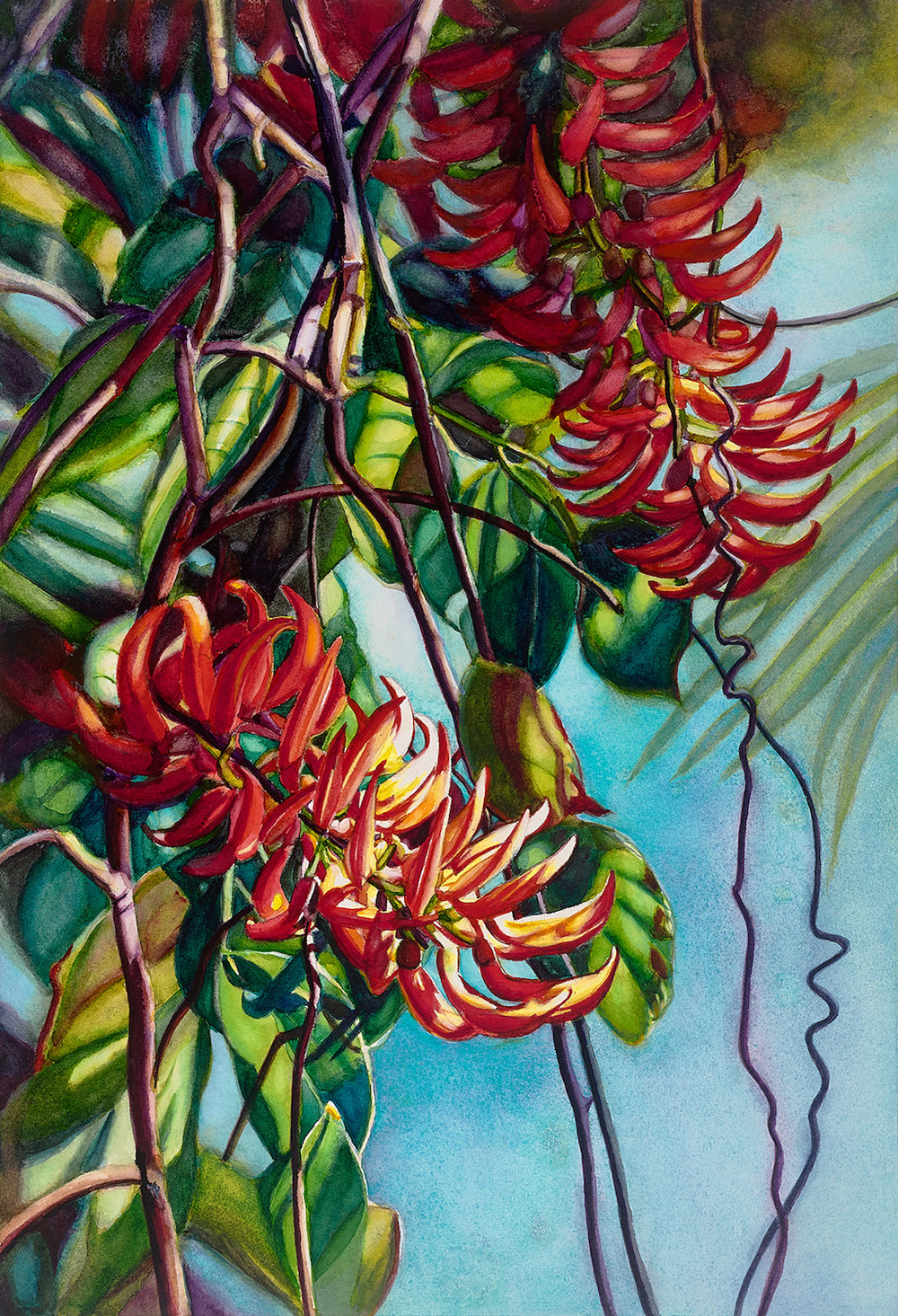 "Love Entwined 20"" x 14"" - Diane Tunnell"