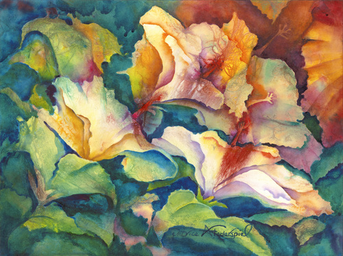BREATHING SUNLIGHT ©Patrice Federspiel Watercolor