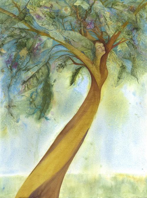 LIFE SOARS ©Patrice Federspiel Watercolor