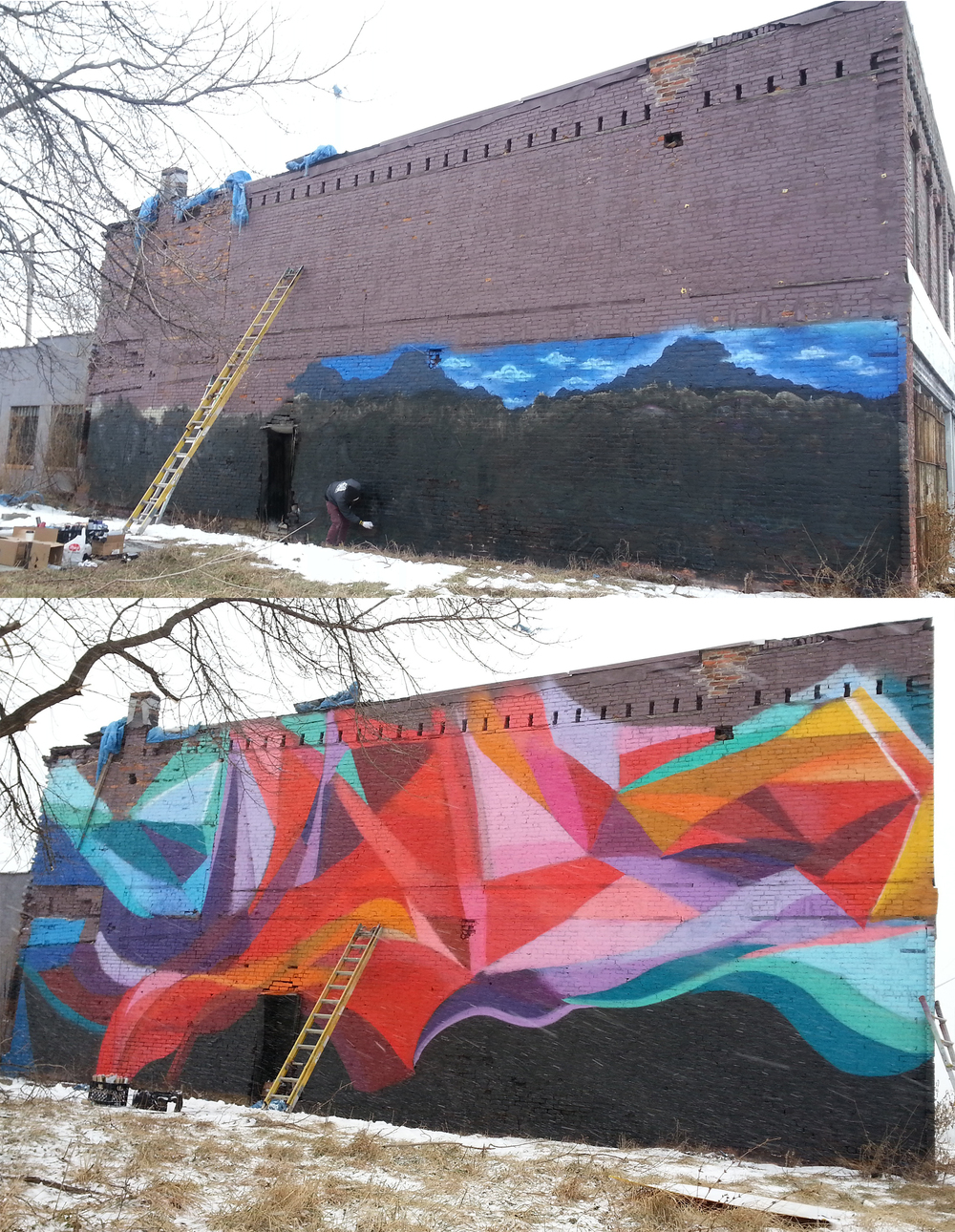 Philippe mastrocola for Detroit mural factory