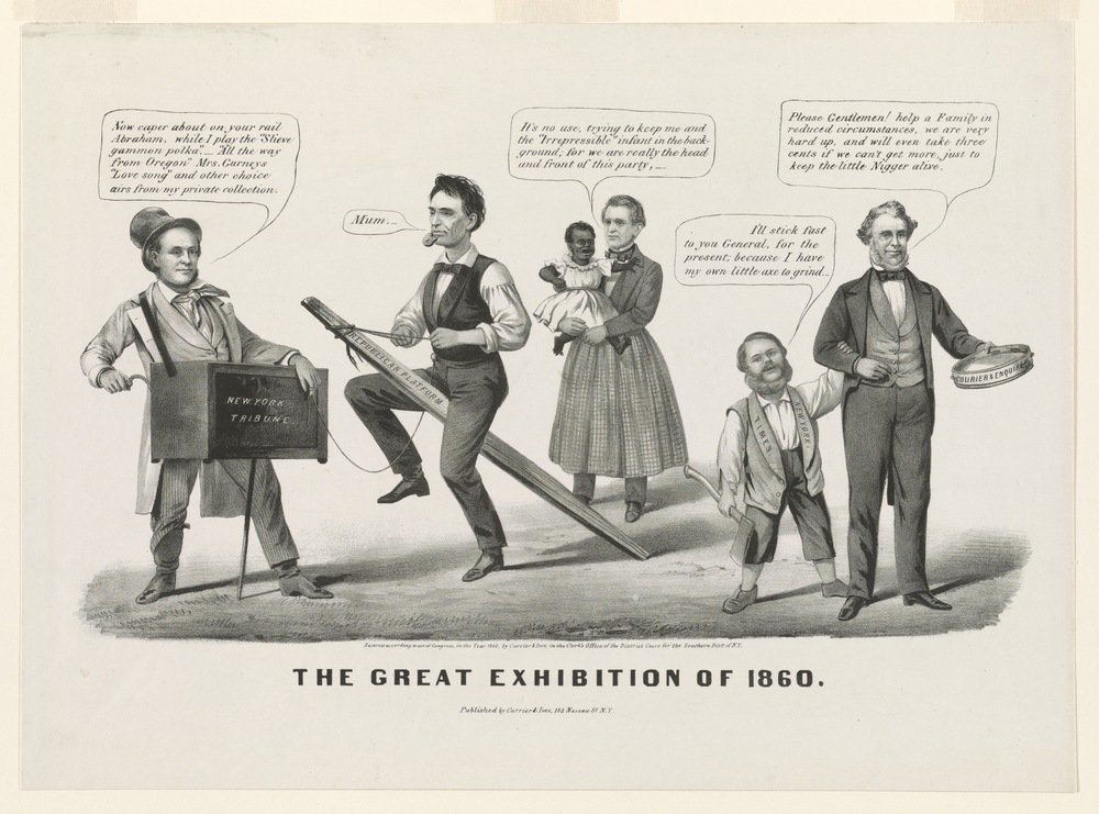 The Great Exhibition of 1860 (Currier and Ives, 1860)