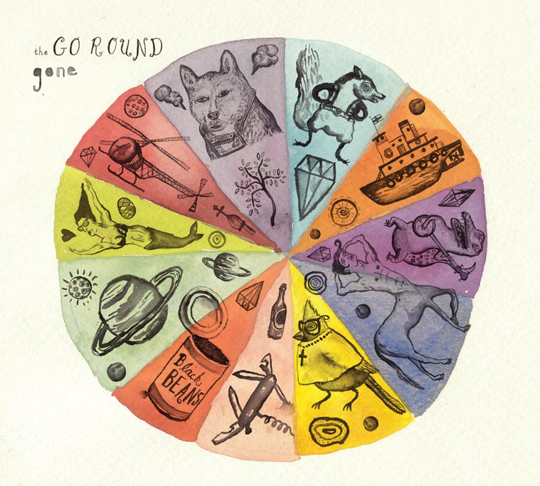 This artwork was created for The Go Round's album   Gone