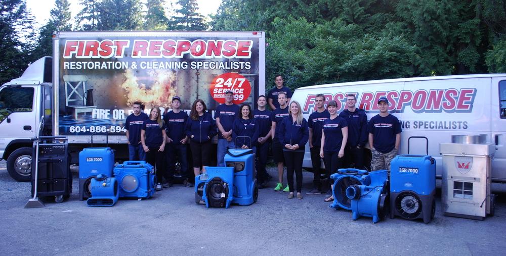 First Response Flood & Fire Restoration Team on the Sunshine Coast