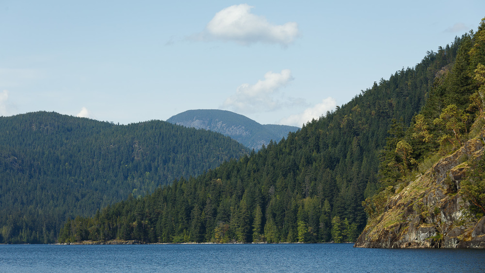 Mowat Bay, Powell Lake, Powell River BC.