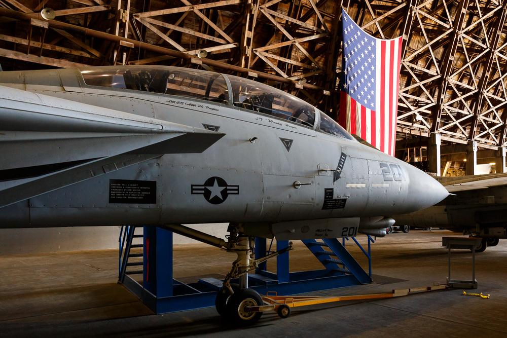 Grumman F-14 Tomcat at Tillamook Air Museum