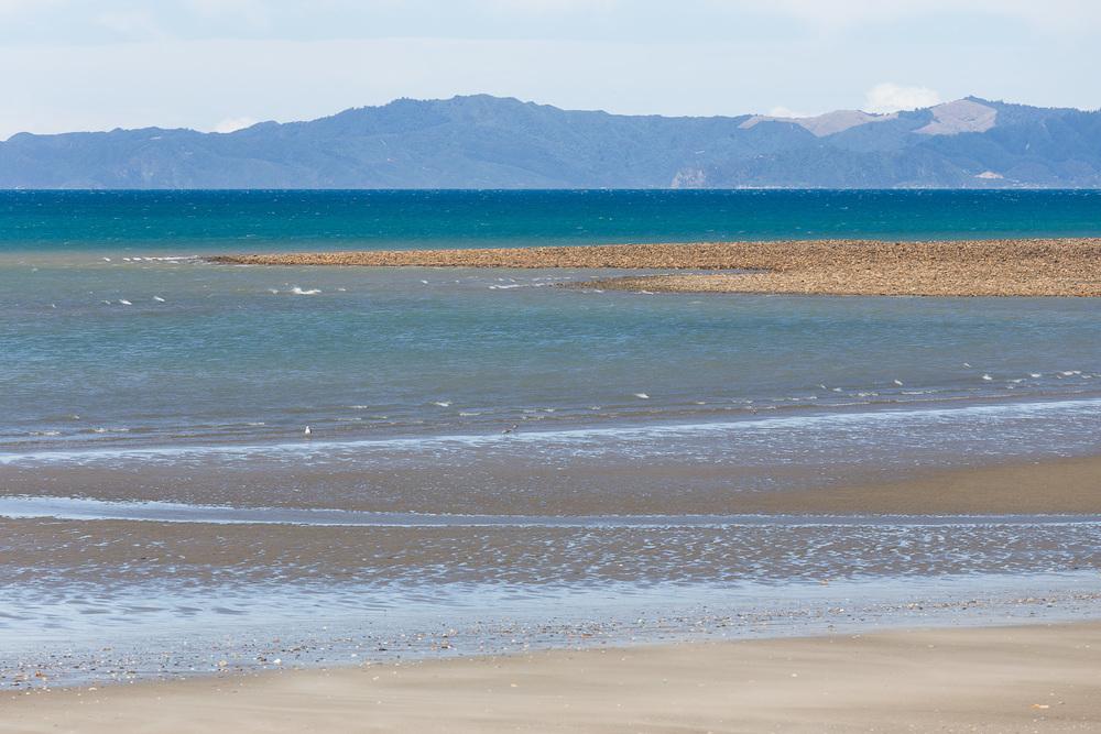 Coastal scene from Parapara, near Collingwood.