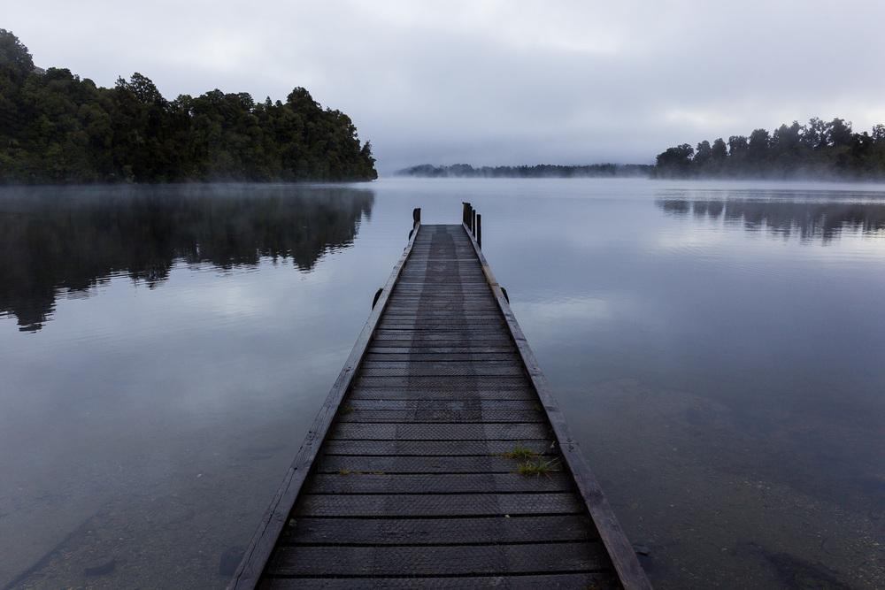 Lake Mapourika, near Franz Joseph.