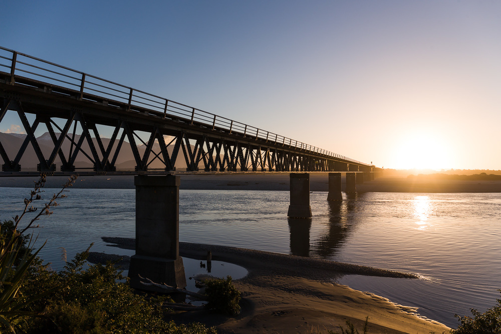 Haast River bridge