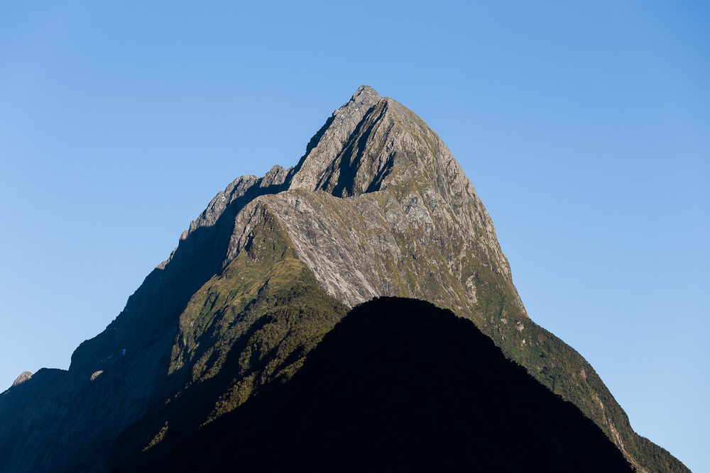 The famous Mitre Peak, Milford Sound.