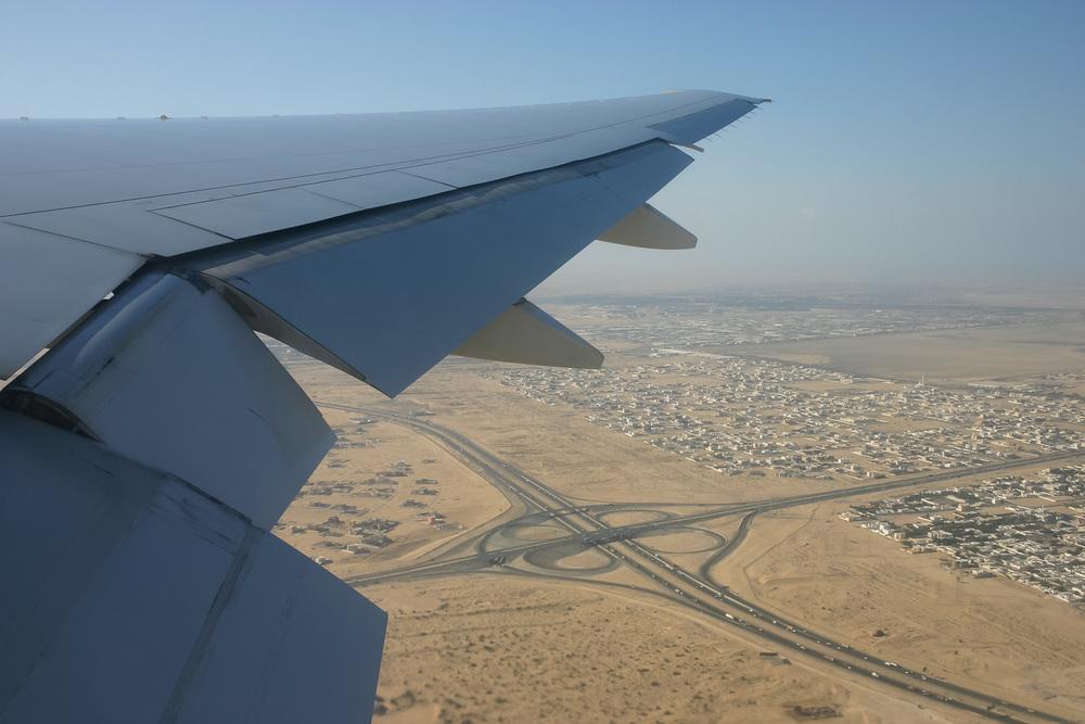 Boeing 777-300, A6-EMS, departing Dubai