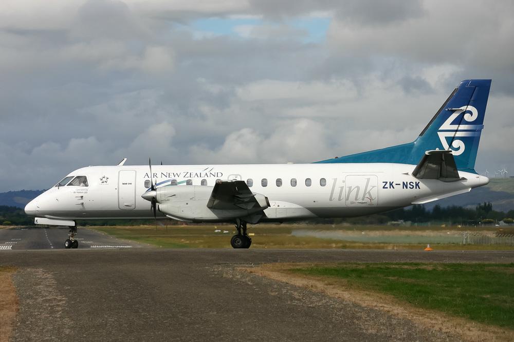 Saab 340, ZK-NSK, NZPM
