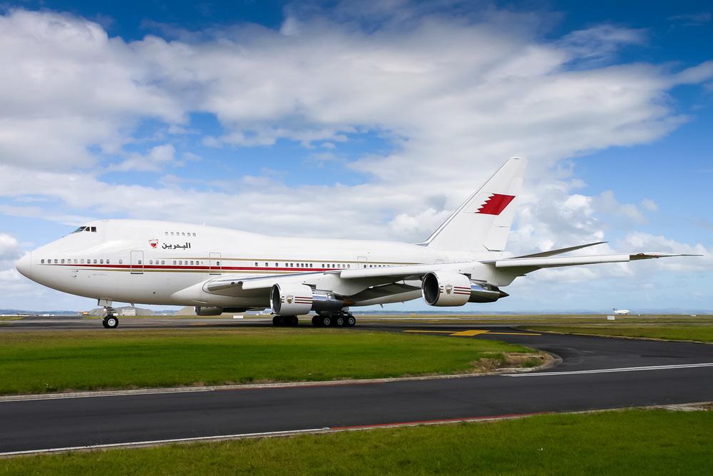 Boeing 747SP, A9C-HMH, NZAA