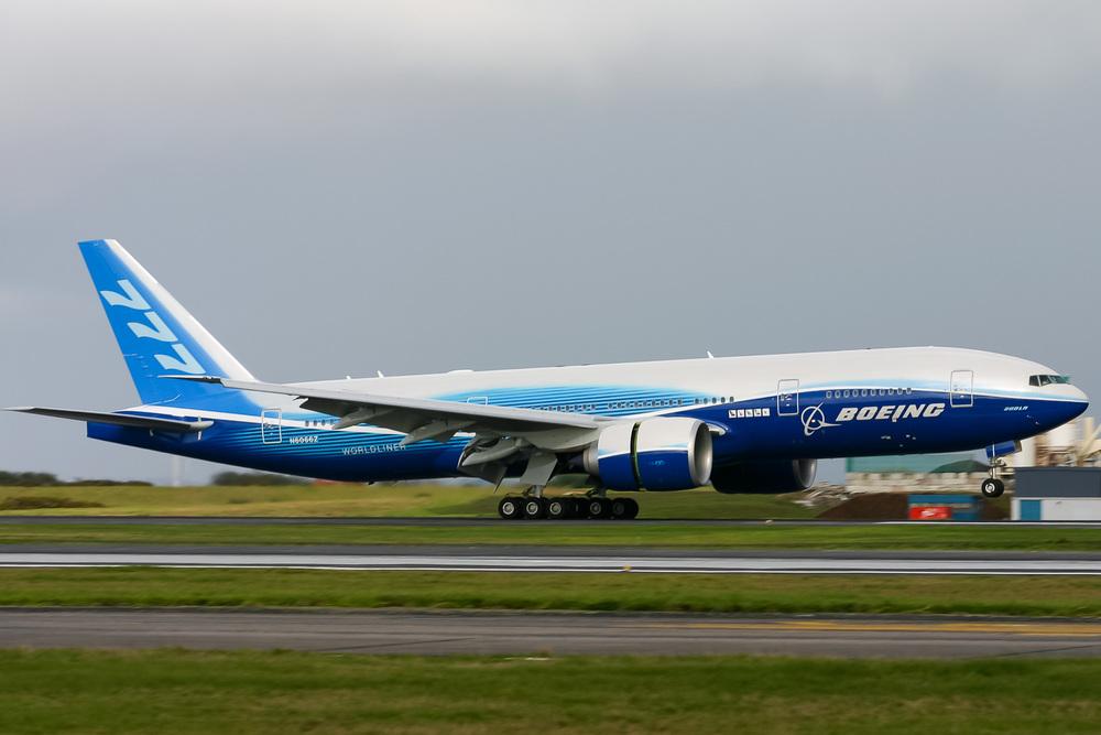 Boeing 777-200LR, N6066Z, NZAA