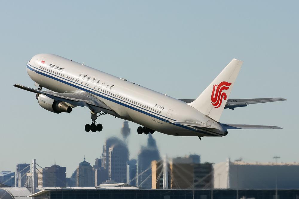 Boeing 767-300ER, B-2499, YSSY