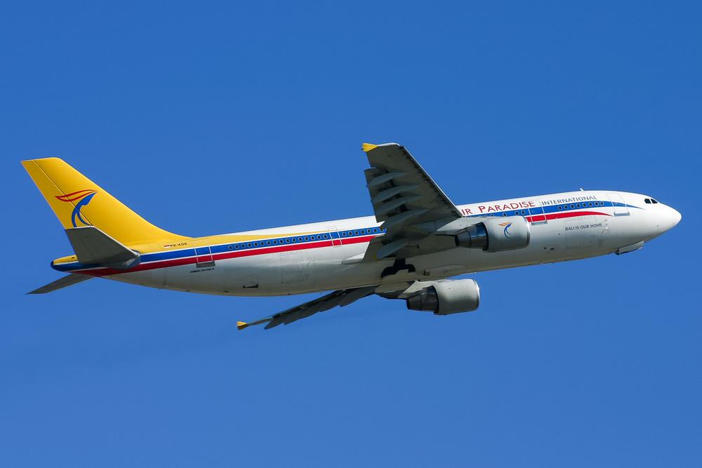 Airbus A300, PK-KDK, YSSY