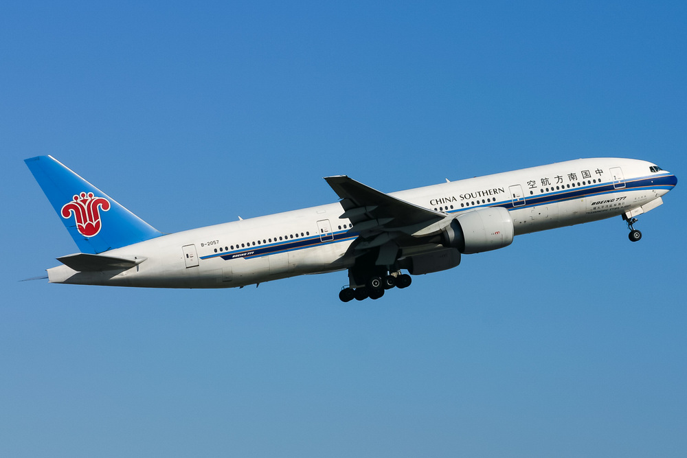 Boeing 777-200ER, B-2057, YSSY