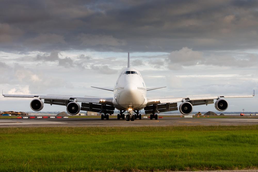 Boeing 747-400, ZK-SUI, NZAA