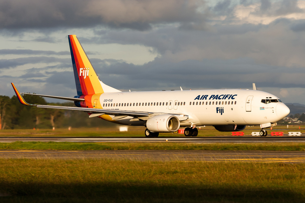 Boeing 737-800, DQ-FJG, NZAA