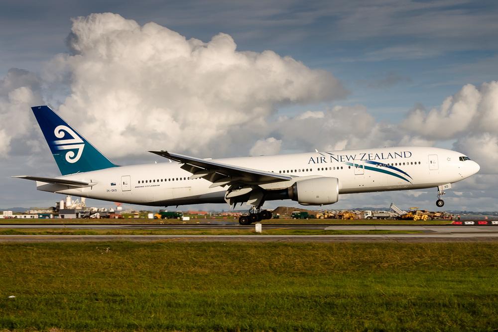 Boeing 777-200ER, ZK-OKD, NZAA