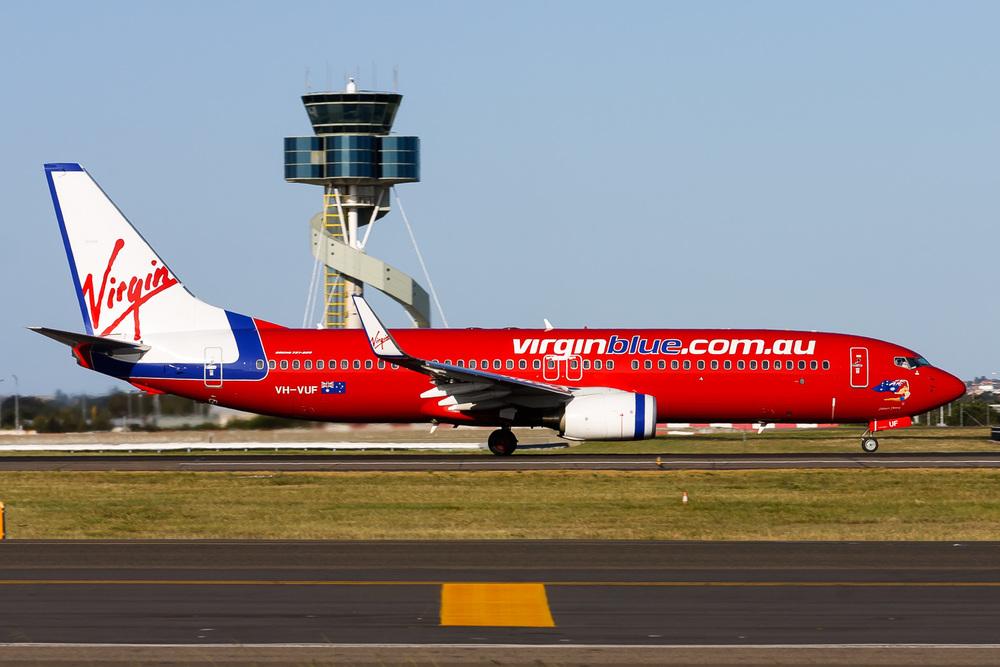 Boeing 737-800, VH-VUF, YSSY