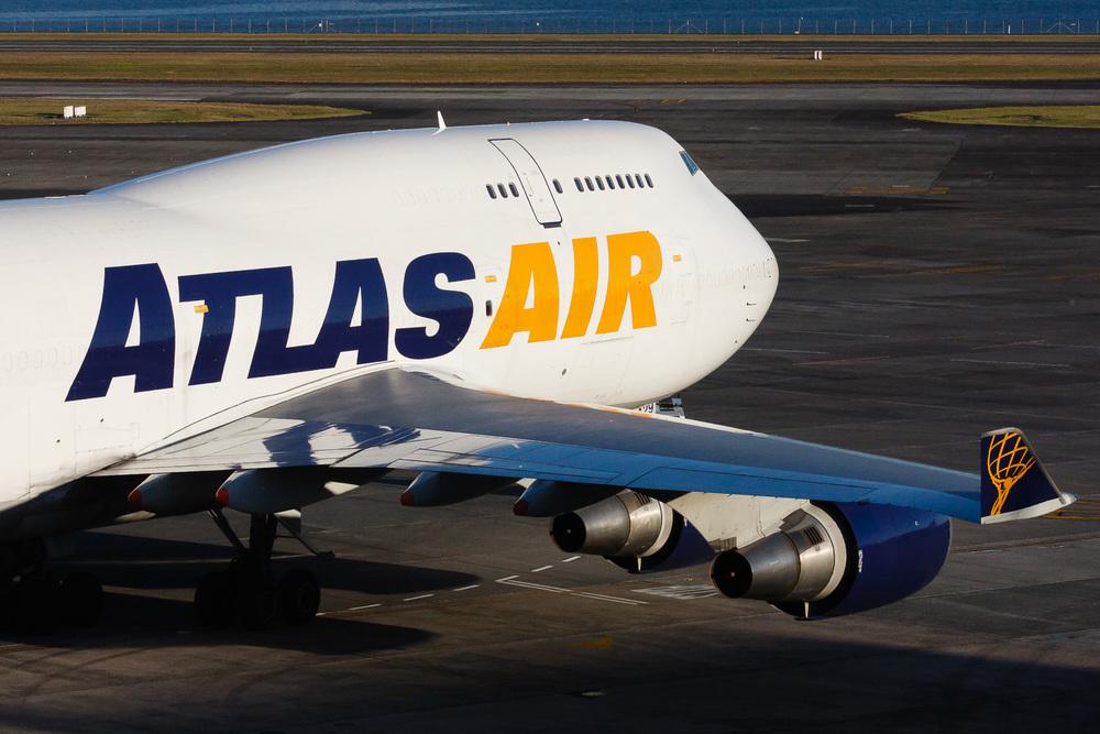 Boeing 747-400, N429MC, NZAA