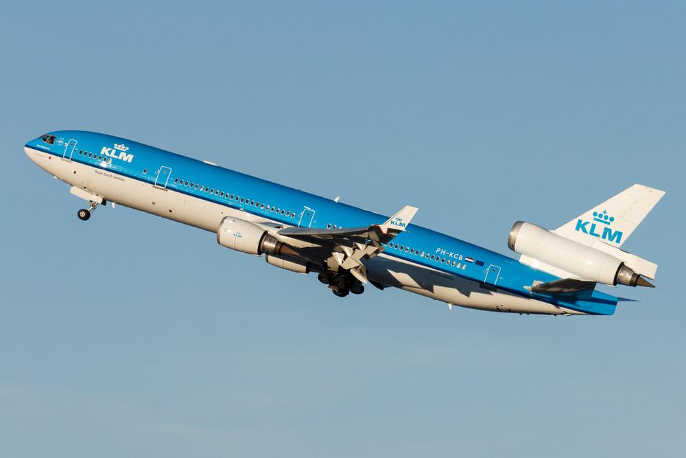 McDonnell Douglas MD11, PH-KCB, KSFO