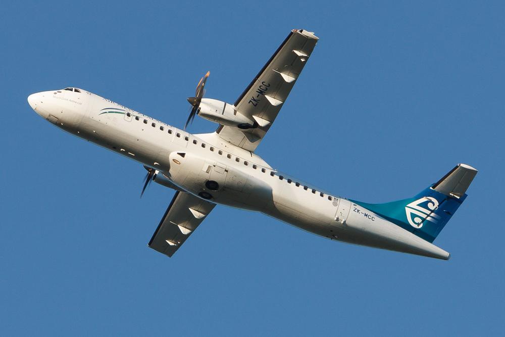 ATR72-500, ZK-MCC, NZAA