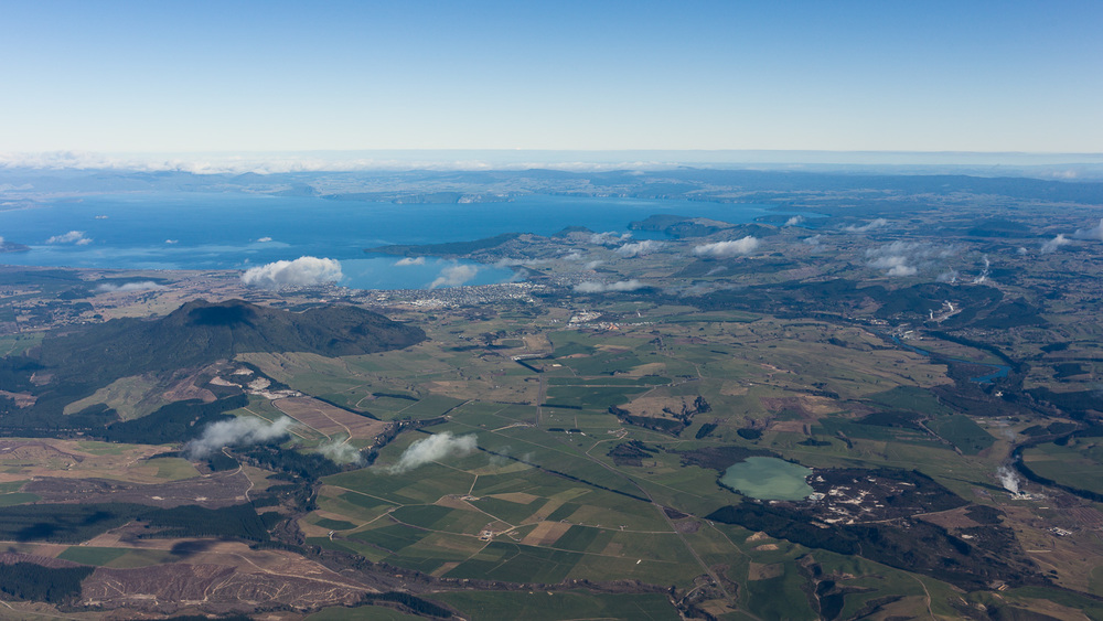 Looking southwest towards Taupo