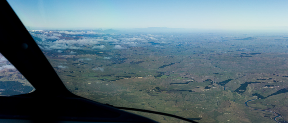 Looking towards the Manawatu