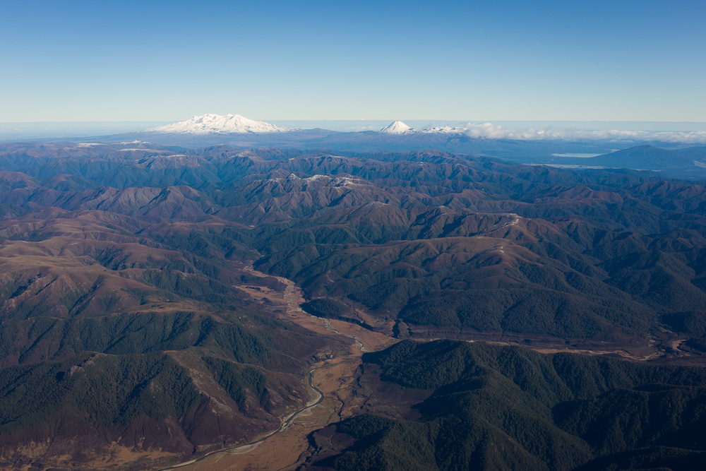 Mount Ruapehu and Ngauruhoe