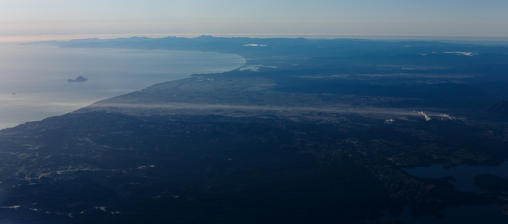 Low level inversion, eastern Bay of Plenty.