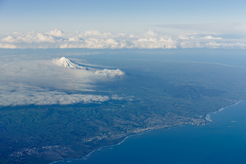 New Plymouth and Mount Taranaki