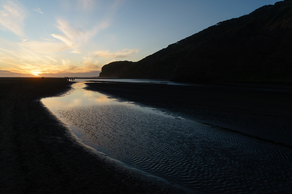 Bethells Beach, west of Auckland.