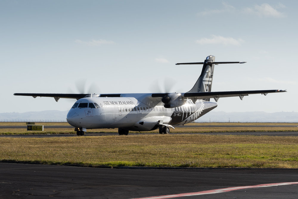 Mount Cook Airline ATR73-500 ZK-MCJ in Auckland. January 2017.