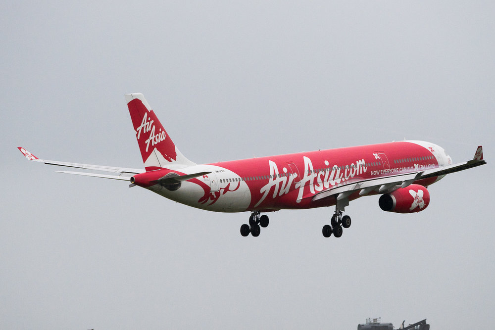 AirAsia X Airbus A330-300 9M-XXH in Auckland. May 2016.