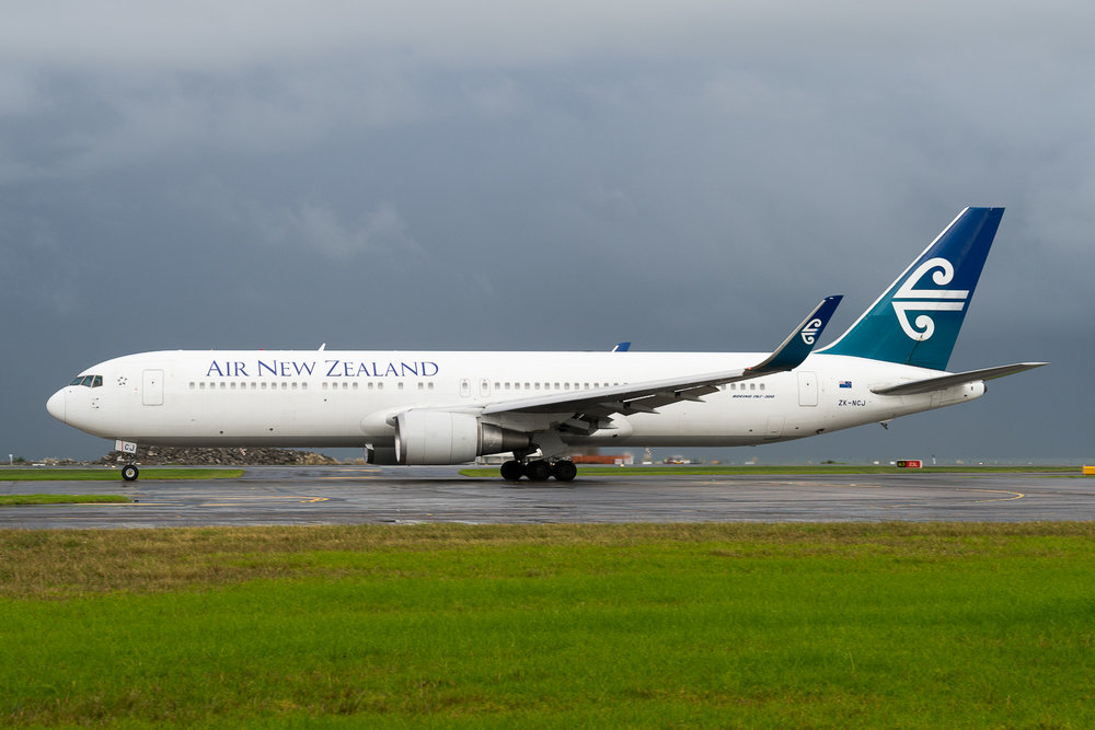 Air New Zealand Boeing 767-300ER ZK-NCJ in Auckland. May 2016