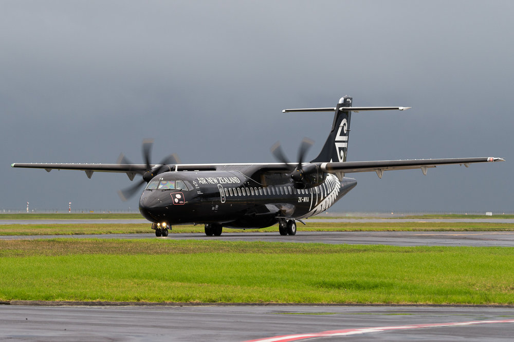 Mount Cook Airlines ATR72-600 ZK-MVA in Auckland. May 2016