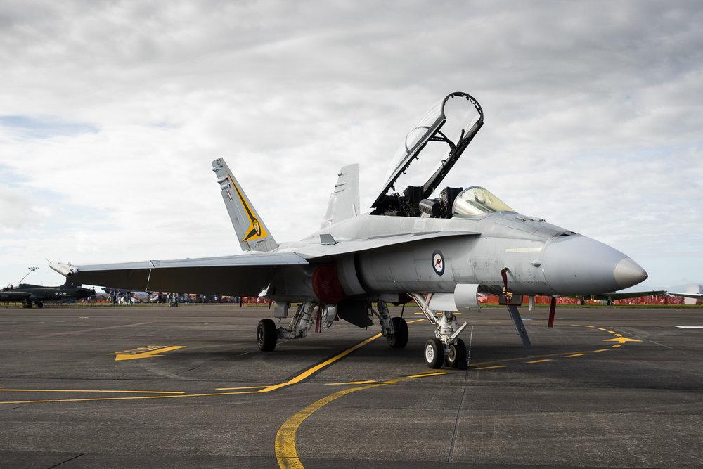 RAAF F-18
