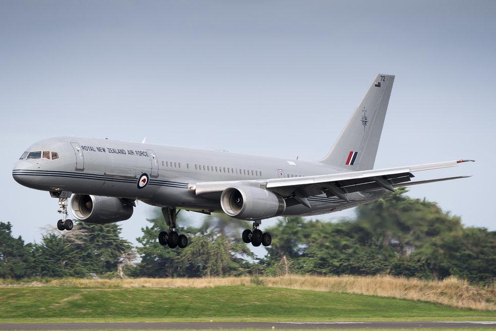RNZAF Boeing 757