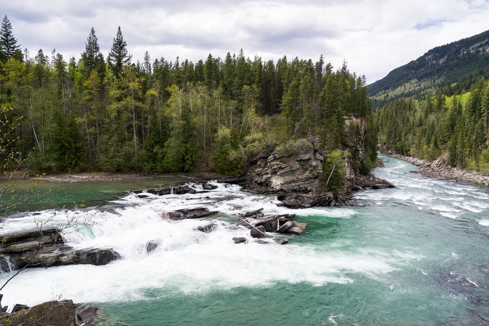 Rearguard Falls, BC