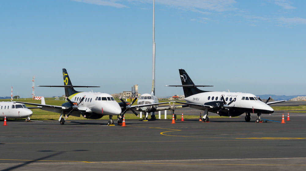 BAe J32s at Auckland. August 2017