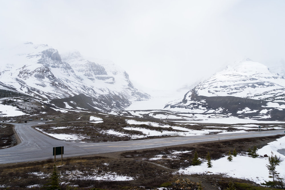 Glacier. Icefield Parkway, AB