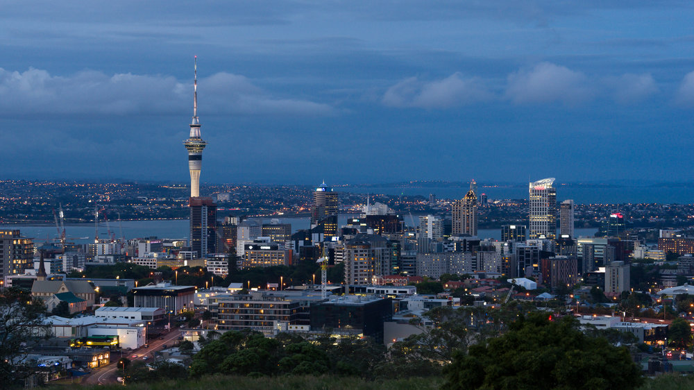 Auckland City from Mount Eden