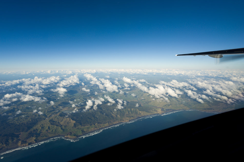 What a lovely day for flying. Heading from New Plymouth to Auckland, cruising at 13,000ft.