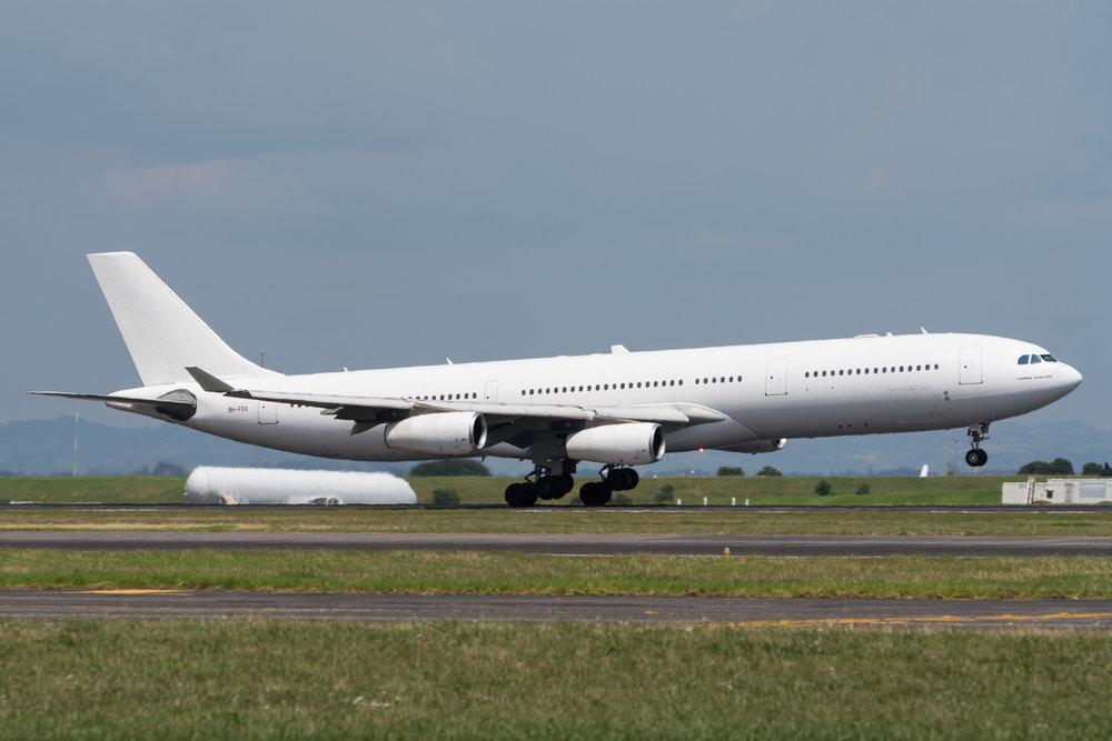 Hi Fly Malta Airbus A340