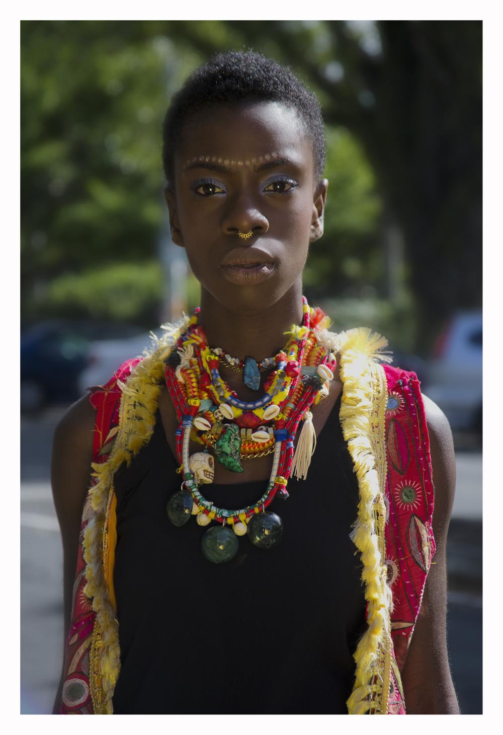 Model - Janina Asiedu Stylist - Makanaka Tuwe Photographer - Constanza Makeup - Stacey and Jayne